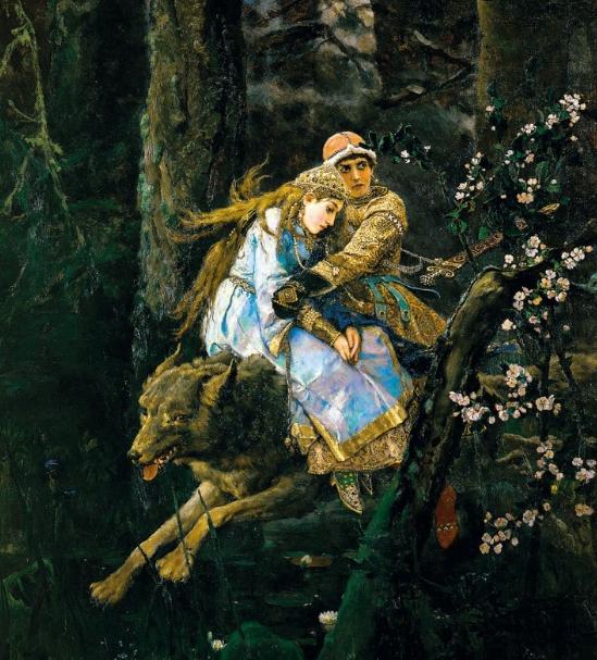 Краткий пересказ русской сказки «Иван Царевич и серый волк»