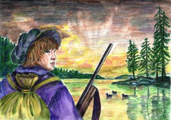 Краткое содержание рассказа В.П. Астафьва «Васюткино озеро»