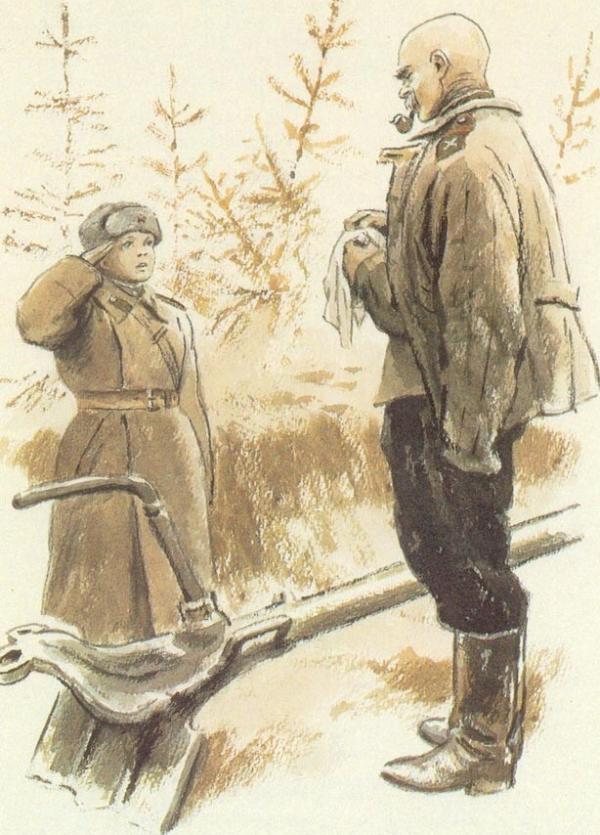 """Краткое содержание В.Катаев """"Сын полка"""""""