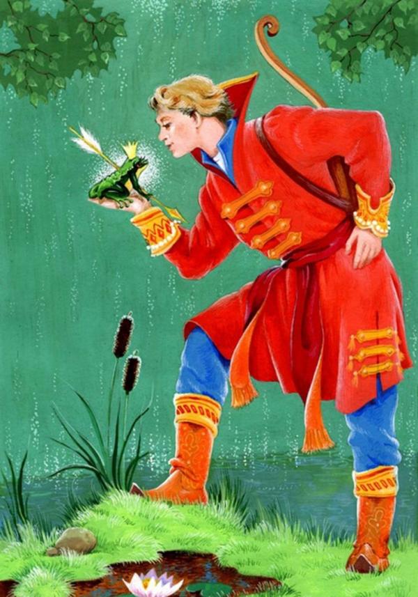"""Краткое содержание народной сказки """"Царевна лягушка"""""""