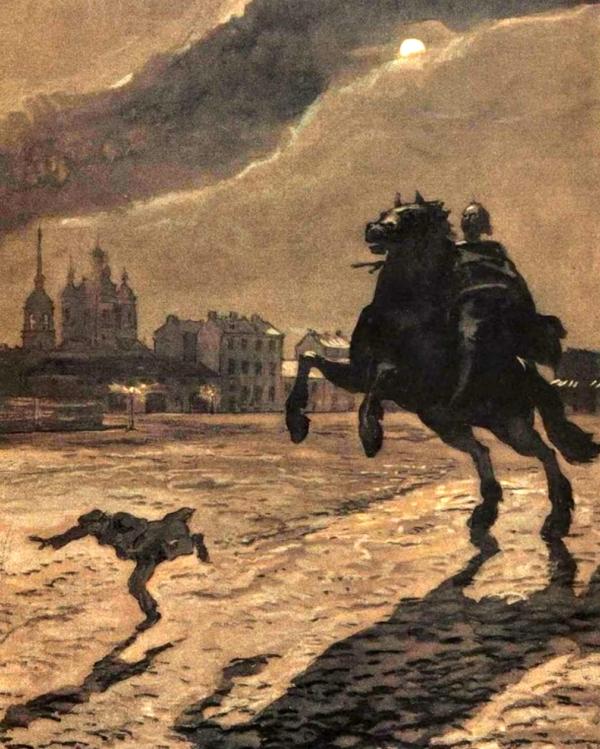 Краткое содержание поэмы А.С.Пушкина «Медный всадник»