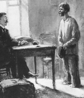 Краткий пересказ А.П. Чехов «Злоумышленник»