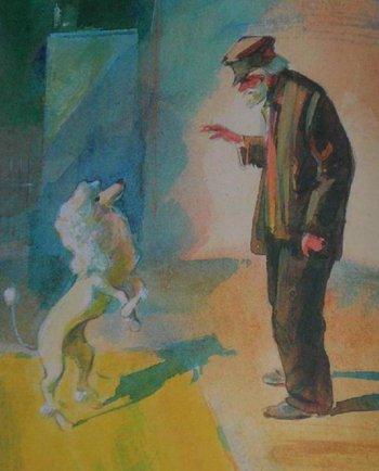 Краткое содержание А. Куприн «Белый пудель»