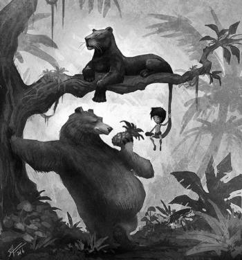 Краткое содержание Р. Киплинг «Маугли»