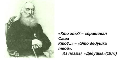 """Краткое содержание Н.А. Некрасов """"Дедушка"""""""