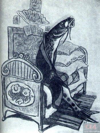 «Премудрый пескарь»: краткий пересказ сказки Салтыкова-Щедрина