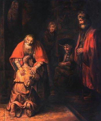 Краткий пересказ притчи о блудном сыне