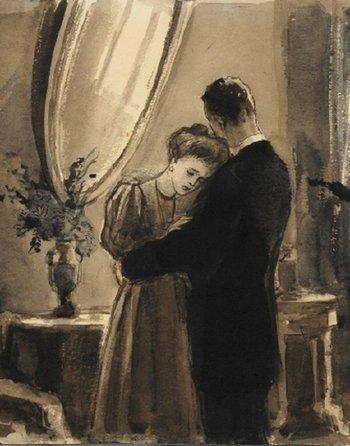 Краткое содержание А.П. Чехов «О любви»