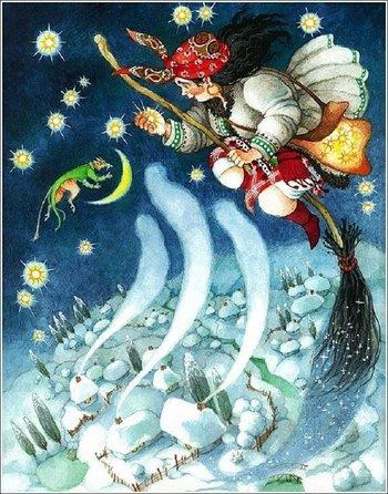 Краткое содержание Н.В. Гоголь «Ночь перед Рождеством»